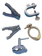 Special purpose grounding clamps