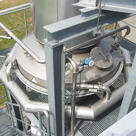 Quench/hot gas cooling