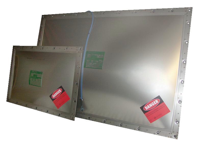 Jednowarstwowy panel odciążający ERO