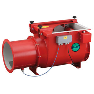 Q-Flap Non-Return Explosion Valve (self-monitoring capability available as an option)