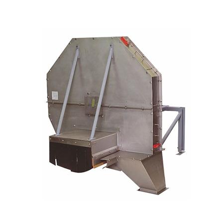 Próbobiernia młotkowa – pobór próbek biomasy/węgla z podajnika taśmowego