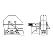 Próbobiernia młotkowa - pobór próbek biomasy/węgla z podajnika taśmowego