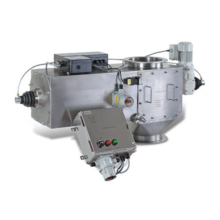 Separatory z automatycznym układem oczyszczania magnesów dla produktów wilgotnych