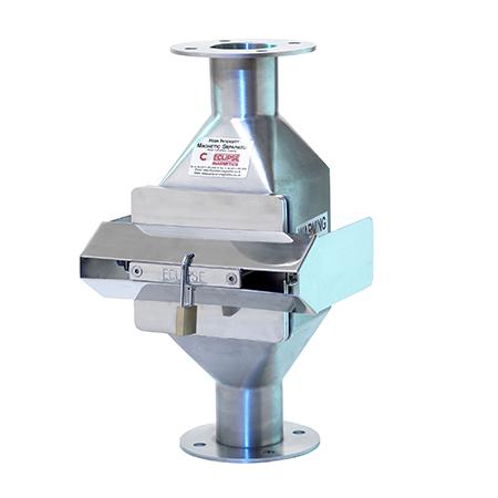 Separatory z ręcznym układem oczyszczania dla linii transportu pneumatycznego