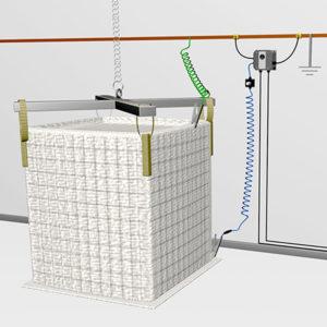 System kontroli uziemienia Earth-Rite FIBC Big-Bagów typu C