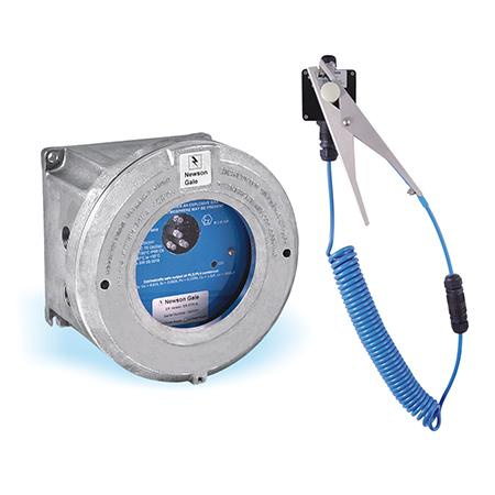 Система контролю заземлення залізничних цистерн, бочок, резервуарів IBC, тощо. Earth-Rite Plus Single Mode
