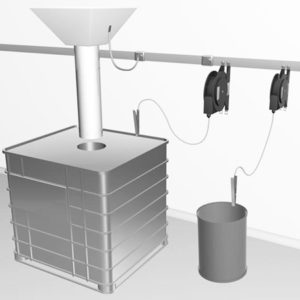 Szpule do odprowadzania ładunku elektrostatycznego