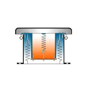 Zawór oddechowy dla pyłów na nad i podciśnienie typu G1 ze stali zwykłej lub szlachetnej