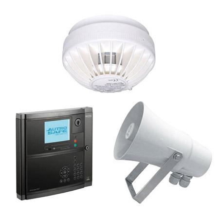 System detekcji i sygnalizacji pożaru | system sygnalizacji pożaru SSP